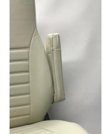 Coppia di fodere copri braccioli per Fiat Ducato