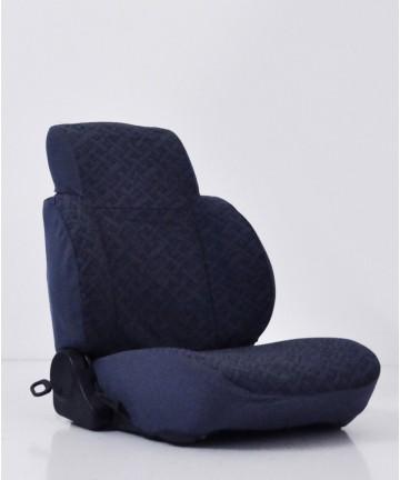 Coprisedili su misura in tessuto Blu per Suzuki Samurai